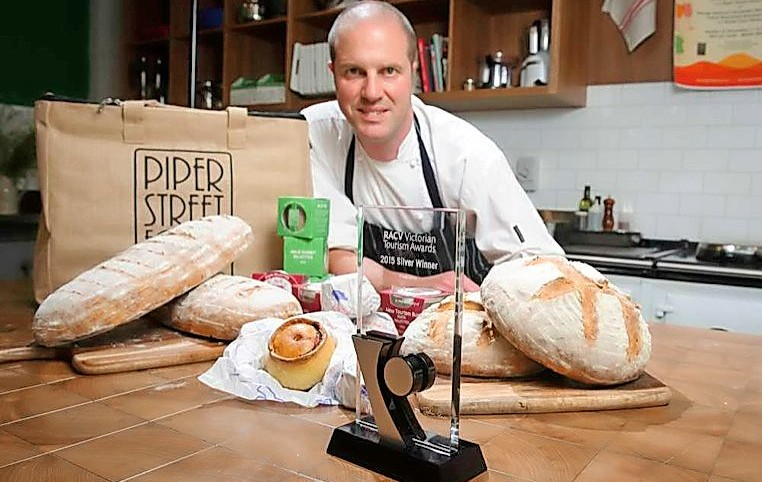 Piper Street Food Co has been named best new tourism business at the annual RACV tourism awards. Pictured is owner Damian Sandercock. Picture Shawn Smits.