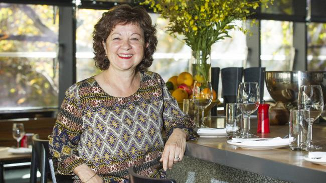 Rosa Mitchell in Rosa's Canteen, Melbourne. (Image: The Australian)